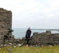 Catalina Mas Rigo gaudint de l'experiència de Galway