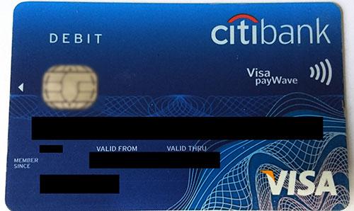 Citibank DebitCard Activation