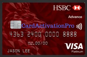 HSBC Card Activation