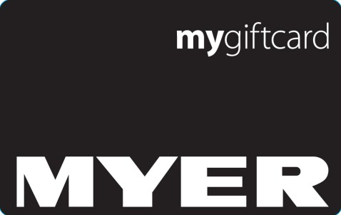 Myer Gift Card Activation
