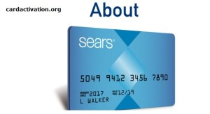 Sears Credit Card Activation