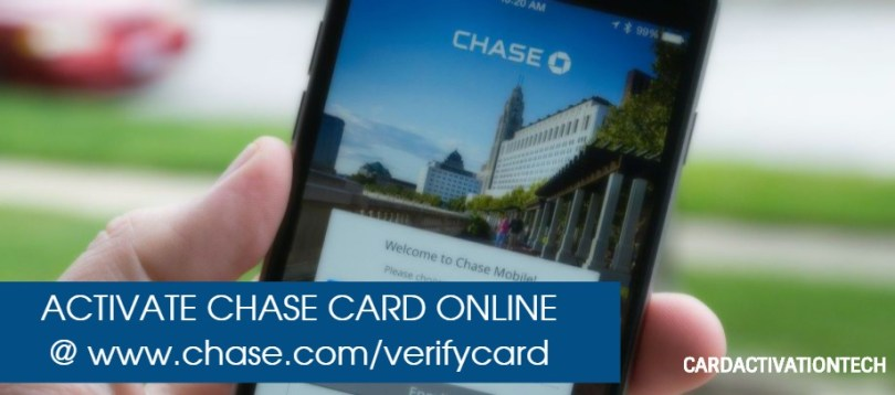 Activate Chase Credit Card Online