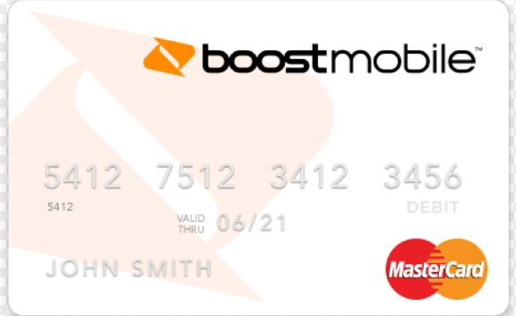 boost card activation