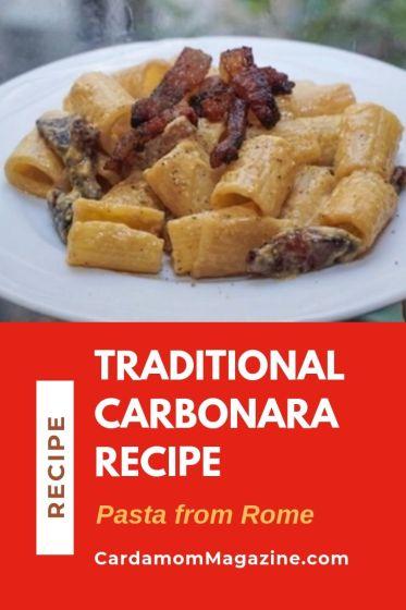 Traditional Carbonara Recipe