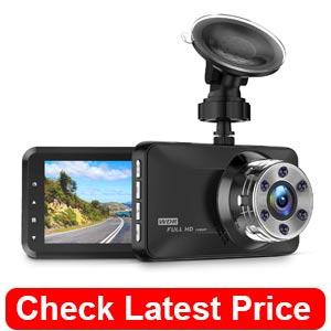 Dash Cam, Amuoc 1080P FHD DVR