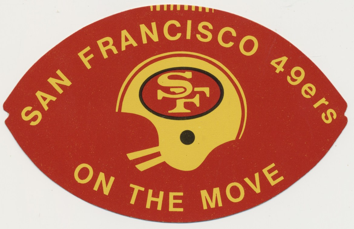 1971 & 1972 San Francisco 49ers Schedules