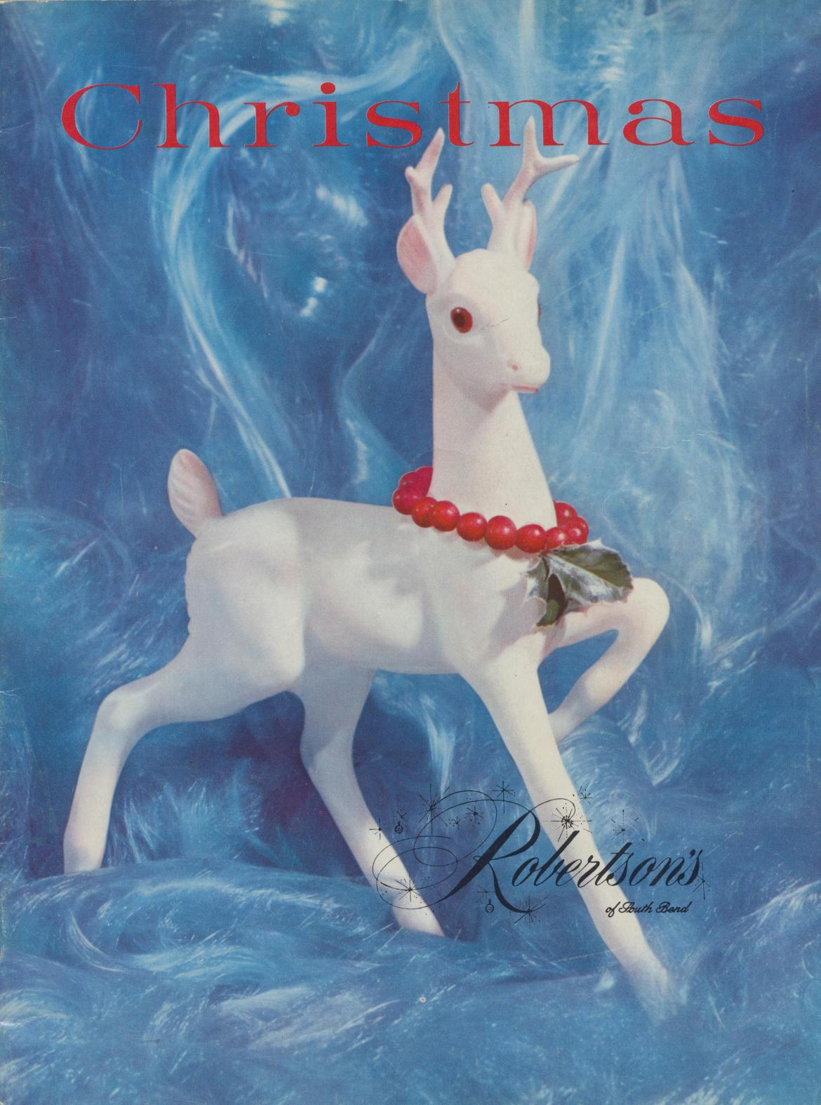 1960 Robertson's Department Store Christmas Catalog