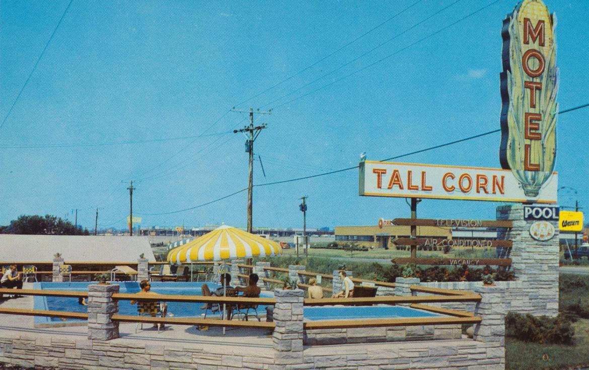 Tall Corn Motel Motor Inn – Davenport, Iowa