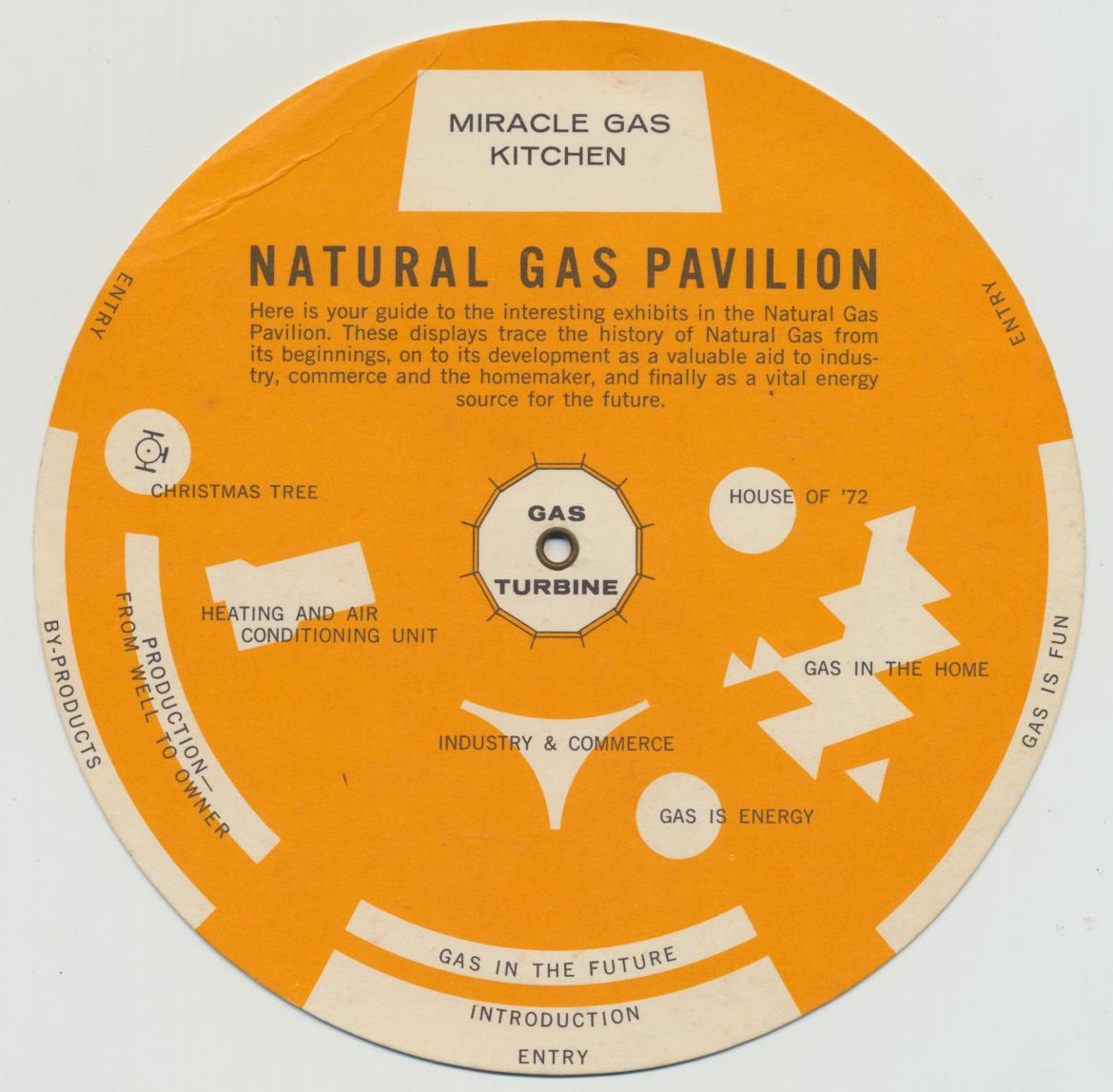 1962 Seattle World's Fair: Natural Gas Zodiac Wheel