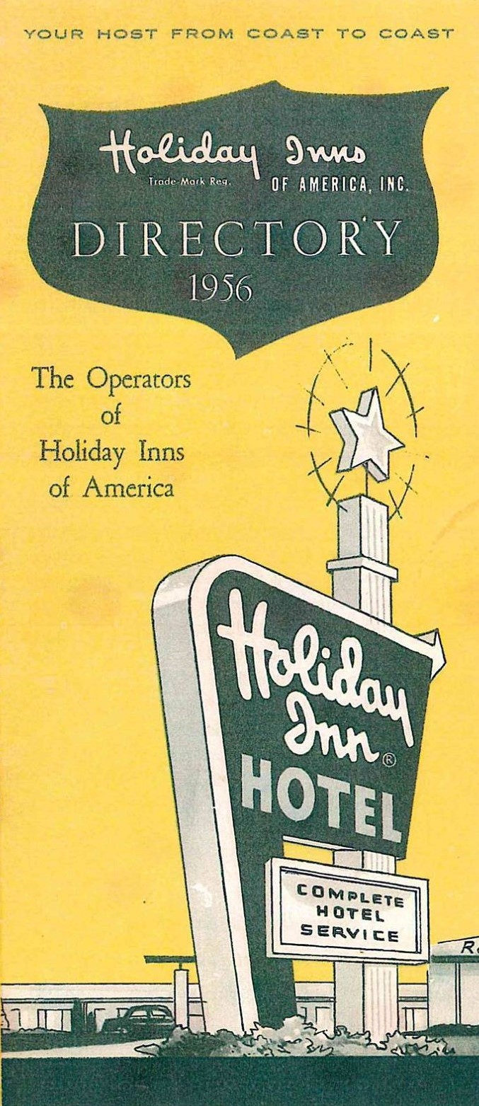 Holiday Inn 1956 Directory