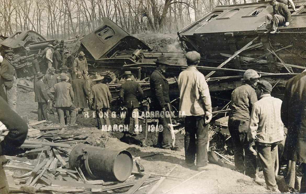 Rock Island Train Wreck – Green Mountain, Iowa