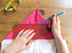 DIY // Comment coudre un sac de plage // How to sew a canvas beach bag // A Cardboard Dream
