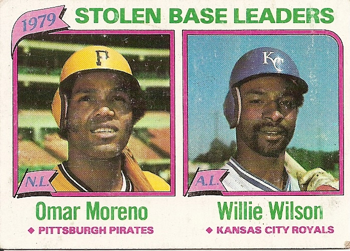 Stolen Base Leaders 1979