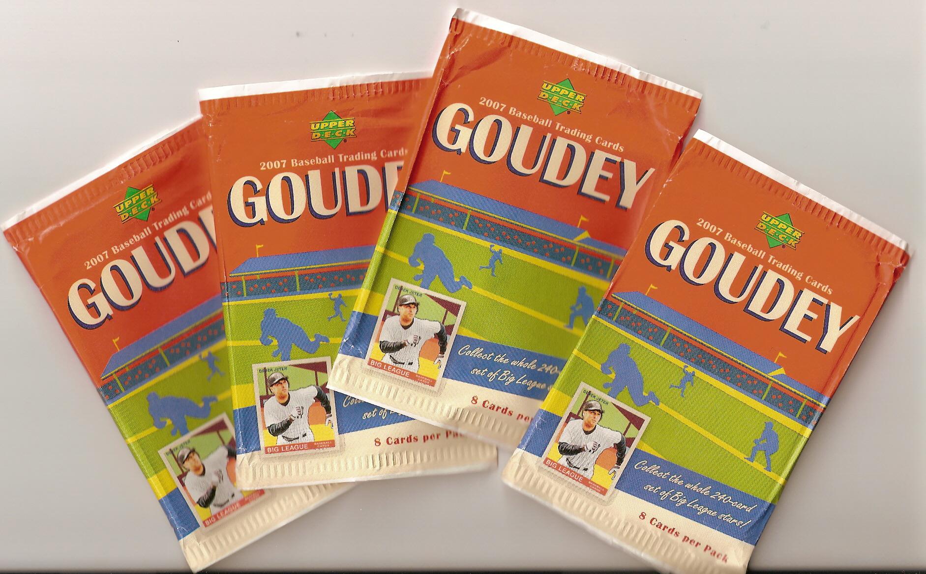 2007GoudeyPacks