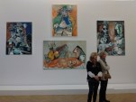 4 paintings at the Picasso Museum in Paris France