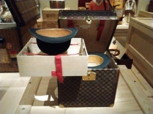 Louis Vuitton bowler hat box Grand Palais in Paris France