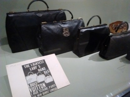 Original automobile handbags, invented by Louis Vuitton.