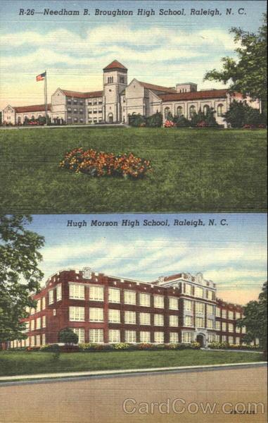 Needham B Broughton High School Raleigh NC