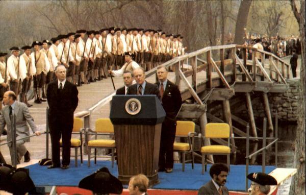 Concord Bicentennial Celebration Presidents