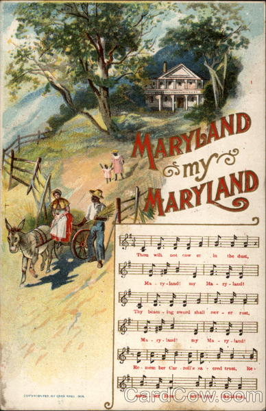 Maryland My Maryland Songs Amp Lyrics