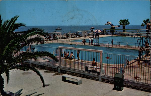 Swimming Pools At Pontchartrain Beach New Orleans LA
