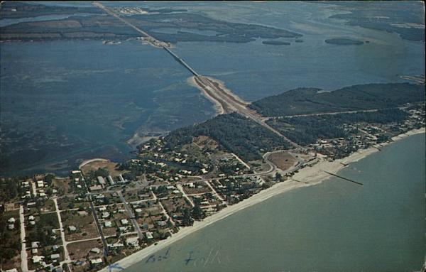 Aerial View Of Anna Maria Island Bradenton FL