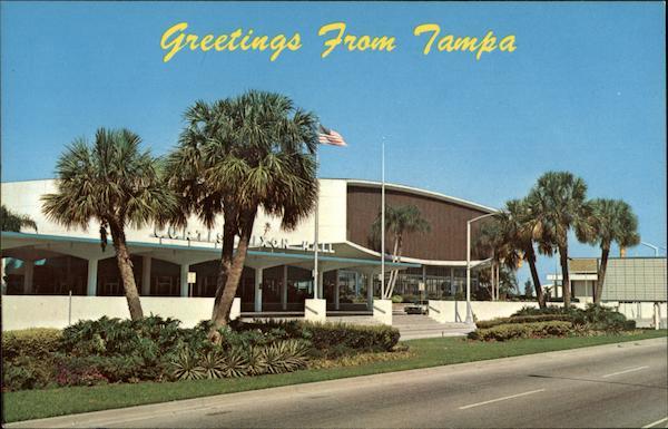 Curtis Hixon Hall Tampa FL