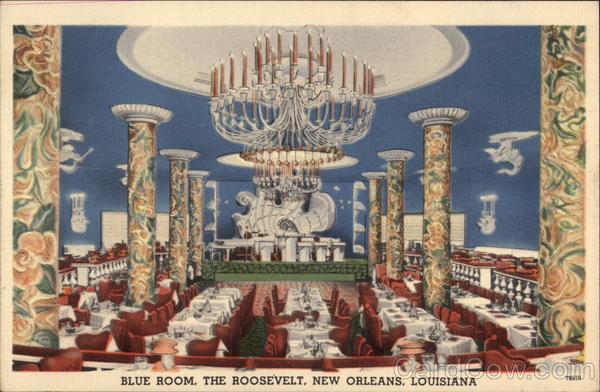 The Blue Room The Roosevelt New Orleans LA
