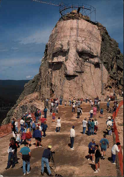 Crazy Horse Mountain Memorial Black Hills SD