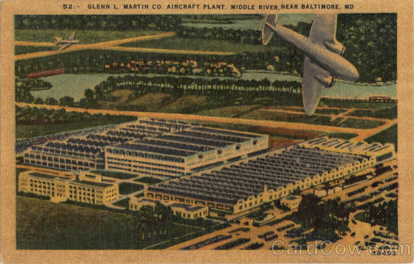 Glenn L Martin Co Aircraft Plant Baltimore MD