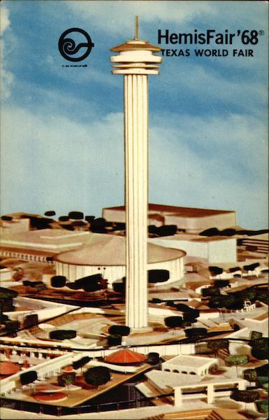 Tower Of The Americas HemisFair 68 Texas World Fair