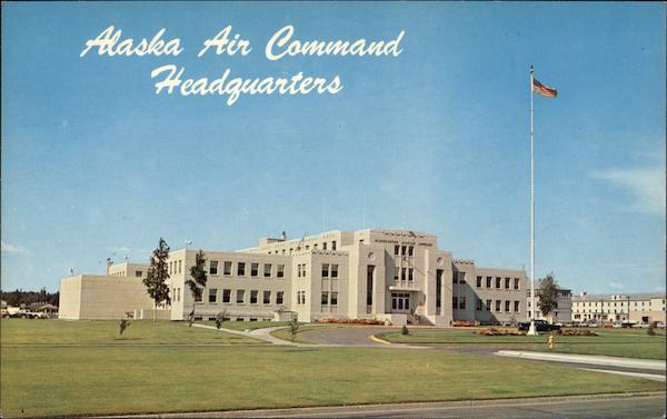 Alaska Air Command Headquarters Elmendorf Air Force Base