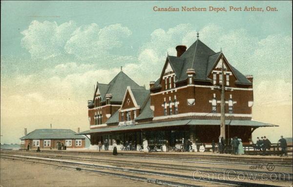 Canadian Northern Depot Port Arthur ON Canada