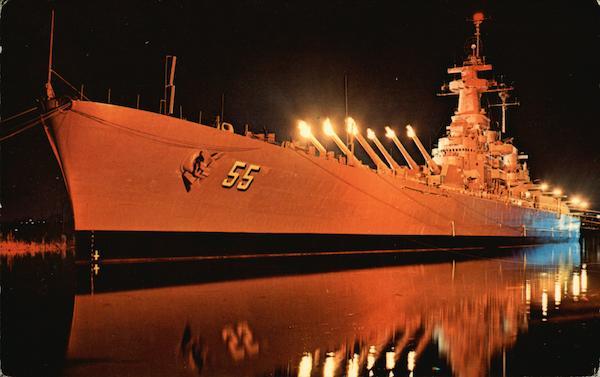 The Immortal Showboat USS North Carolina Battleship