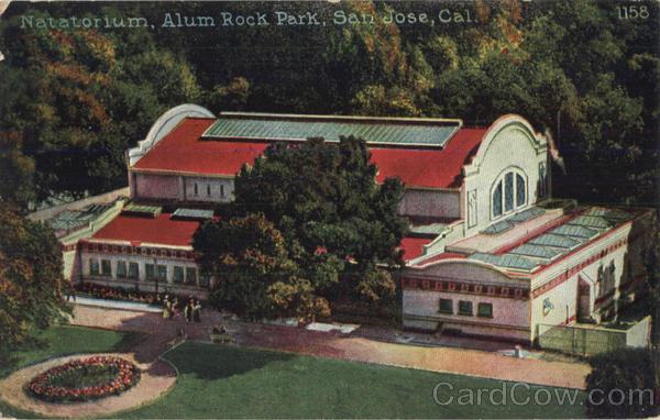 Natatorium Alum Rock Park San Jose CA