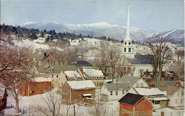 Winter Landscape Stowe VT