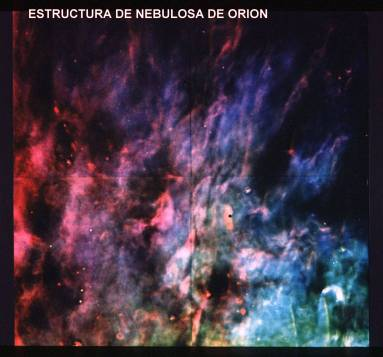 Estructura de Nebulosa Orion