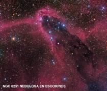 NGC 6231 Nebulosa en Escorpios