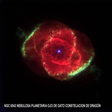 NGC6543 Nebulosa planetaria Cocoon