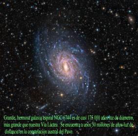 NGC6744 Galaxia Espiral