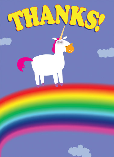 Thank You Cards Funny Thank You Cards Free Postage Included
