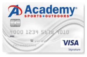 academy sports credit card login