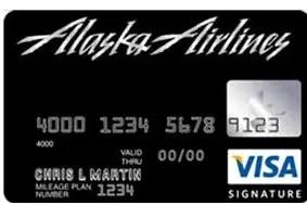 Alaska Airlines Visa Credit Card