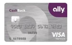 Ally cash back credit card Login