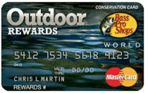Bass Pro Shops Outdoor Rewards Credit Card Login