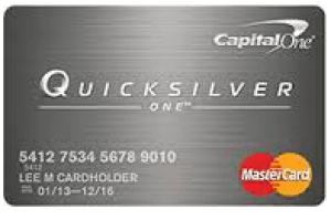 Capital One QuicksilverOne Credit Card Login