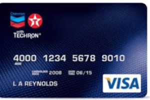 Chevron Credit Card