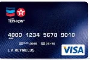 Chevron Credit Card
