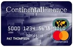 Continental Finance Surge Credit Card