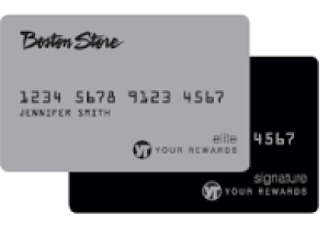 Boston Store Credit Card